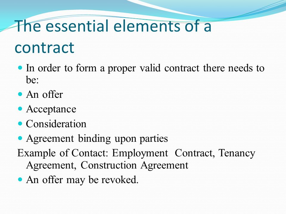 Business Law Will Include The Law Of Contract 1872, The Sale Of