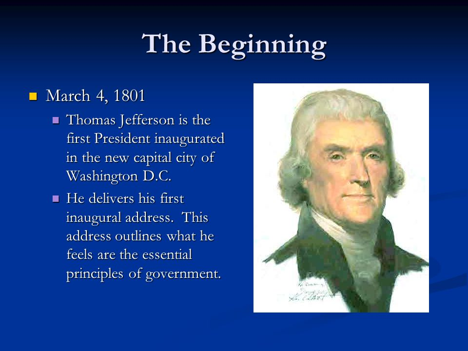 essays on thomas jefferson presidency Thomas jefferson resource guide home presidents thomas jefferson external of virginia presents essays about jefferson and his life before.