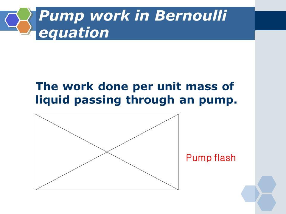 bernoulli 39 s equation pump. 64 pump bernoulli 39 s equation