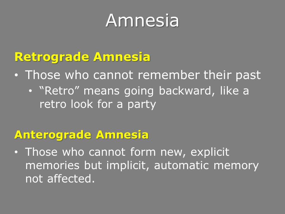 Forgetting, Memory Construction and Memory Improvement. - ppt download
