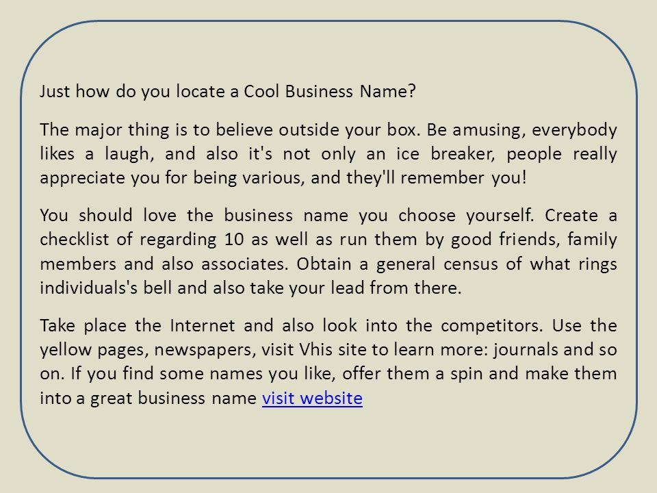 Sign Company Name Ideas. Web Design Company Name Ideas Fashion ...