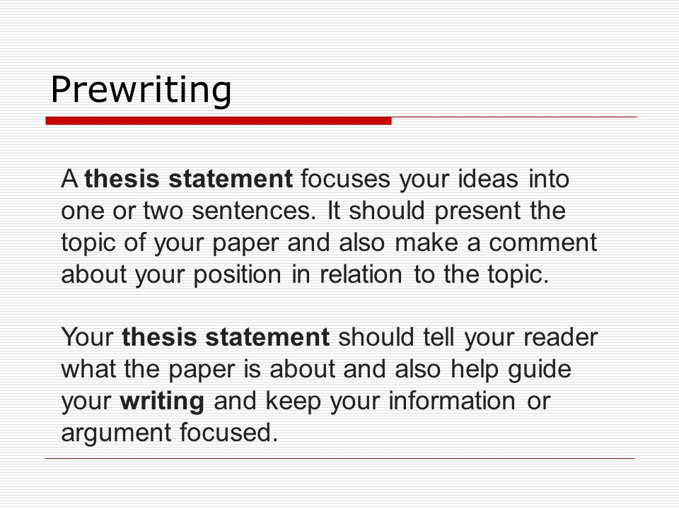 format of writing a thesis statement The thesis statement is the most crucial sentence in the entirety of any formal writing assignment its construction should be done meticulously.