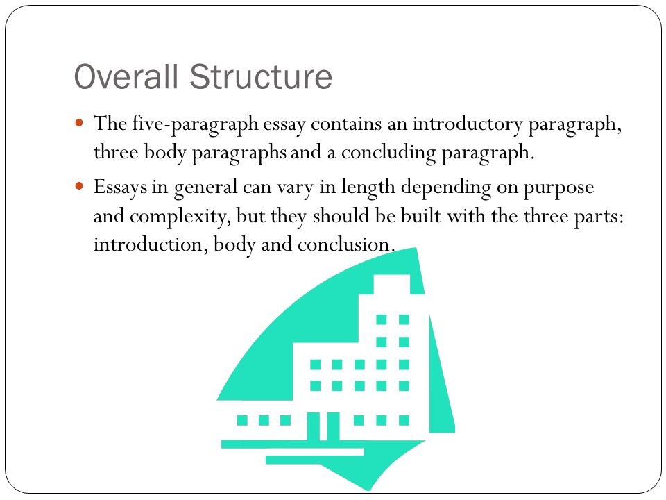 three types of 5 paragraph essays