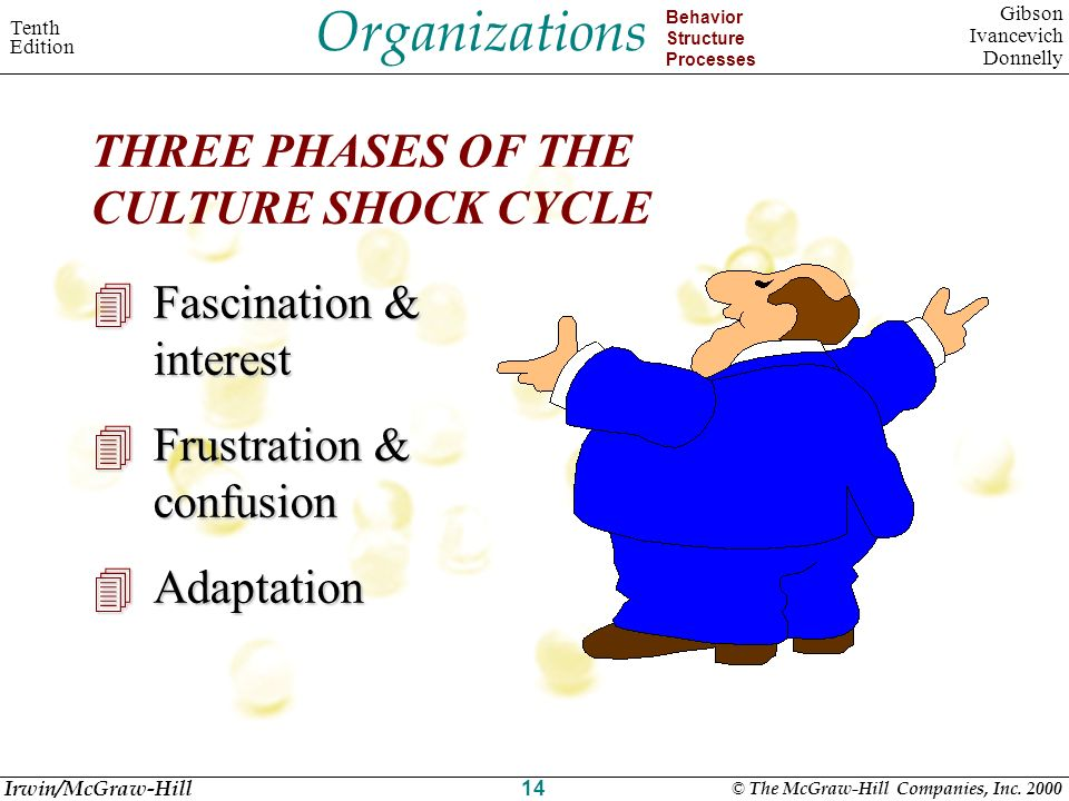 Organizations Behavior Structure Processes Tenth Edition Gibson Ivancevich Donnelly Irwin/McGraw-Hill © The McGraw-Hill Companies, Inc. 2000 14 THREE