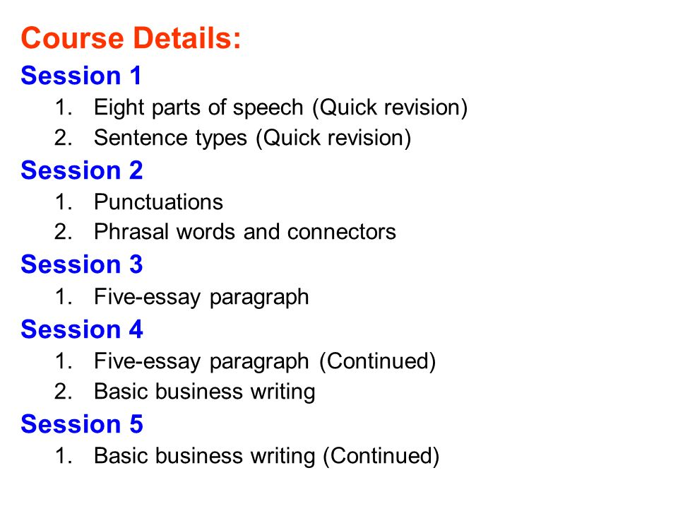 essay parts of speech Learn how to write a strong essay introduction with recommendations from university of maryland university college's effective writing center.