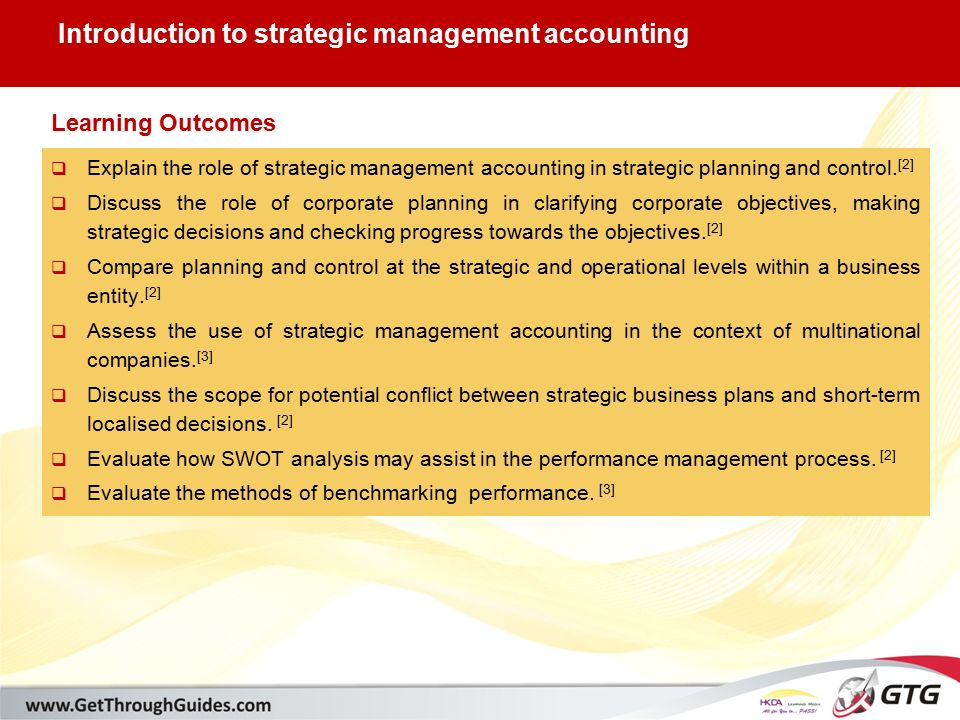 roles of a strategic management accountant The accountant's role roles o f man agers an d managem ent accountants in term strategic cost management is often used to.