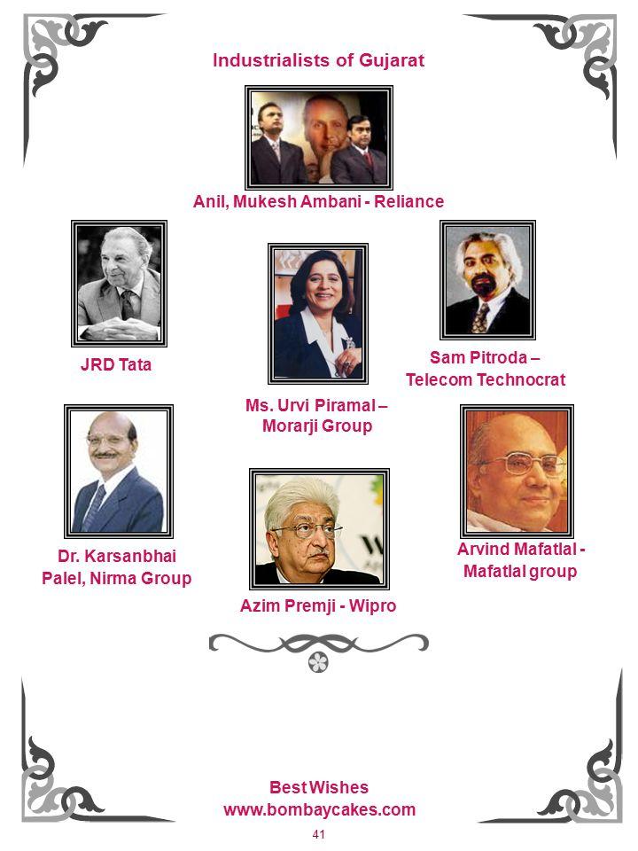 41 Anil, Mukesh Ambani - Reliance Dr.