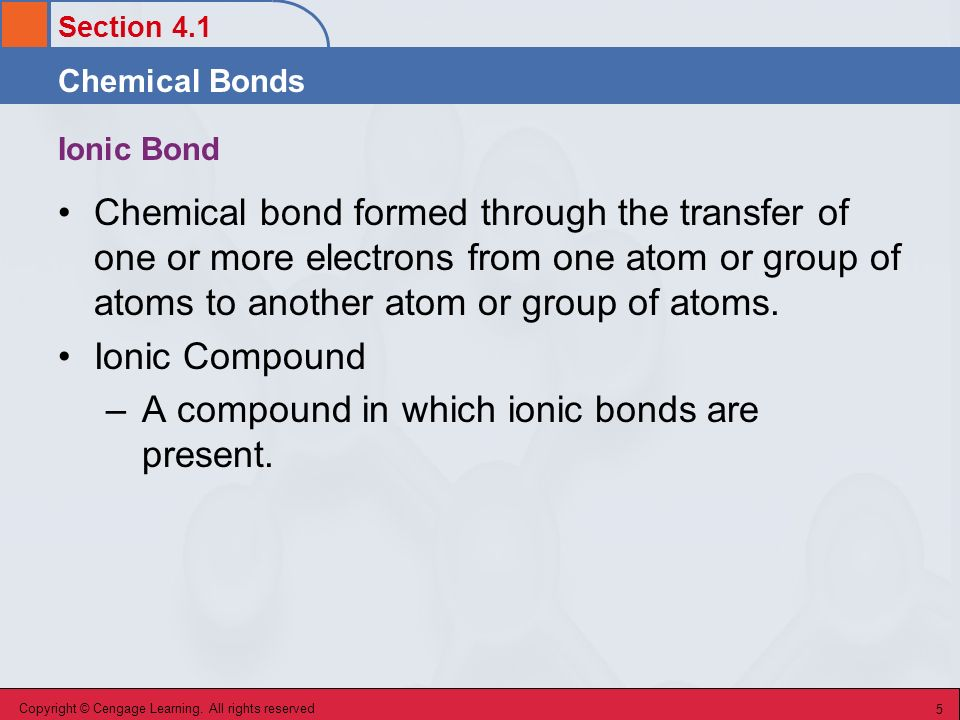 Chapter 4 Chemical Bonding The Ionic Bond Model Ppt Download