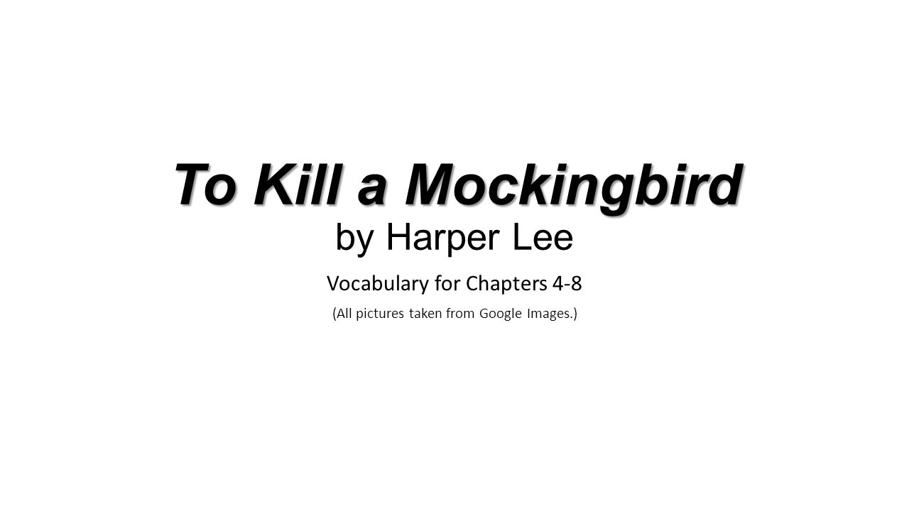 an analysis of the symbolism of a mockingbird in to kill a mockingbird by harper lee A novel in which a character grows is 'to kill a mockingbird', by harper lee this novel is about the story of a southern american family, living in a small county in the 1930's, from the perspective of a young girl called scout finch.
