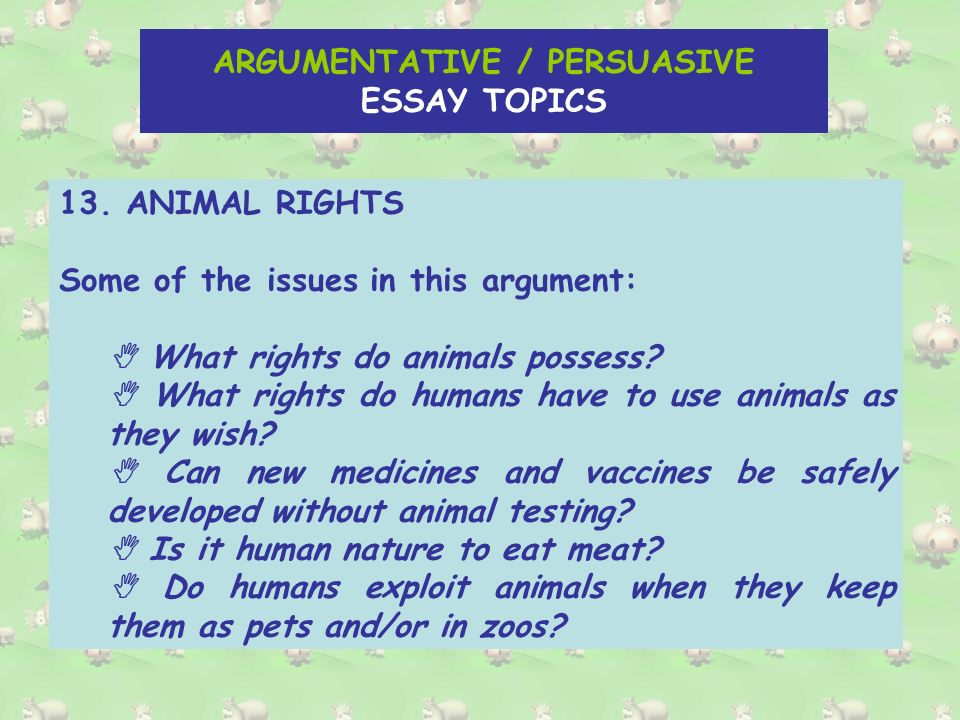 the argumentative persuasive essay there are main methods of  15 argumentative persuasive