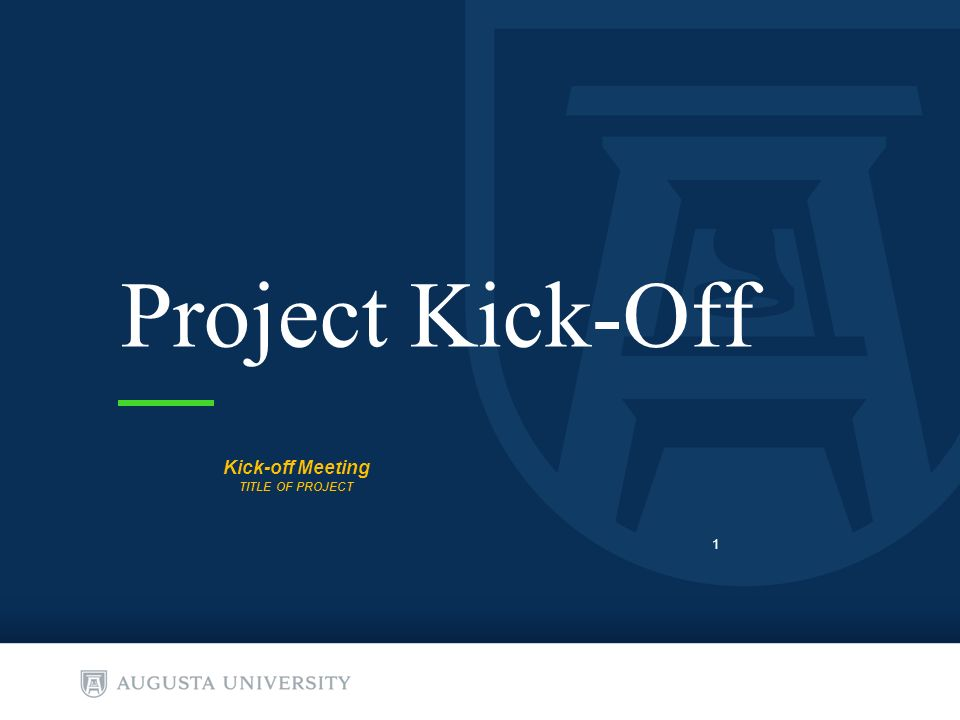 project kick-off kick-off meeting title of project ppt download, Presentation templates