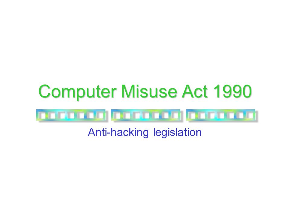 computer misuse act In the uk the computer misuse act 1990 deals with hacking crimes twhis controversial legislation was recently updated to give the uk's intelligence organization gchq the legal right to hack into any computer.