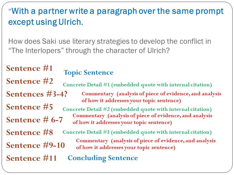 The Interlopers By Saki Essay Definition Saki Wikipedia