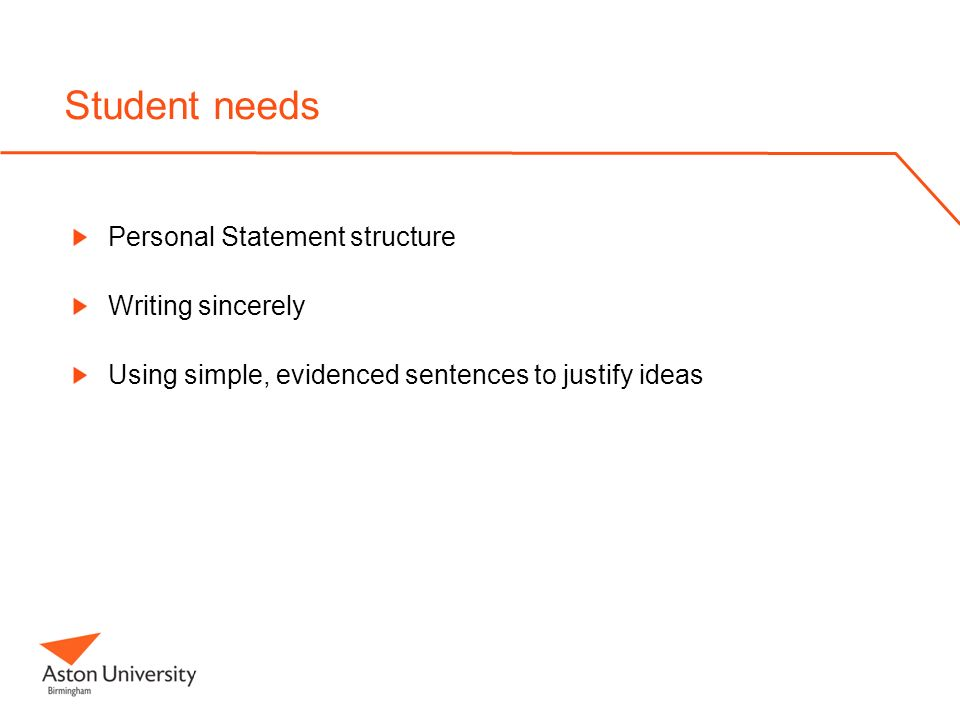 personal statement structure for university The personal statement writing guide although this is not a set structure for a personal statement  i believe that university will help me achieve my aim of.