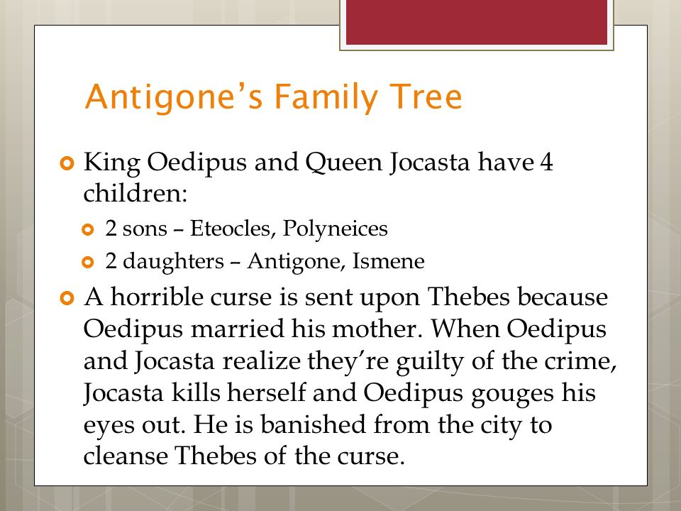 "thesis statement on antigone and ismene As well as the resulting punishments meted upon antigone and ismene (""antigone"" n thesis: antigone is the blood sister of the killed thesis statement."