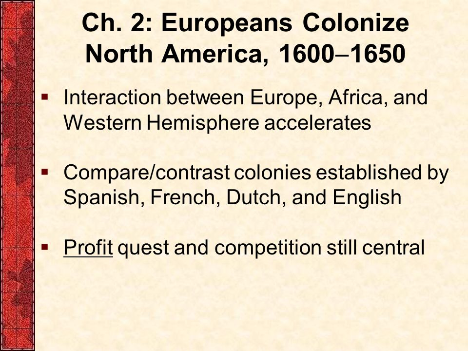 compare and contrast spanish french and english colonies Spanish and english colonization compare and spanish and english colonization compare and contrast between spanish and english colonies.