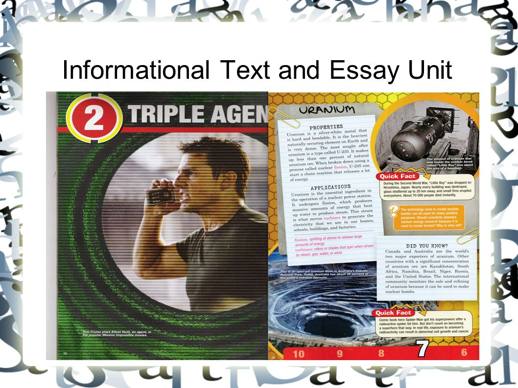 informational text and essay unit what is informational text 1 informational text and essay unit