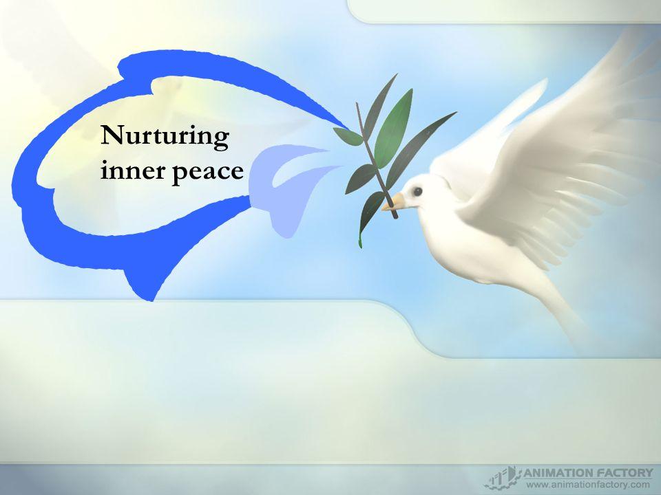 Nurturing inner peace