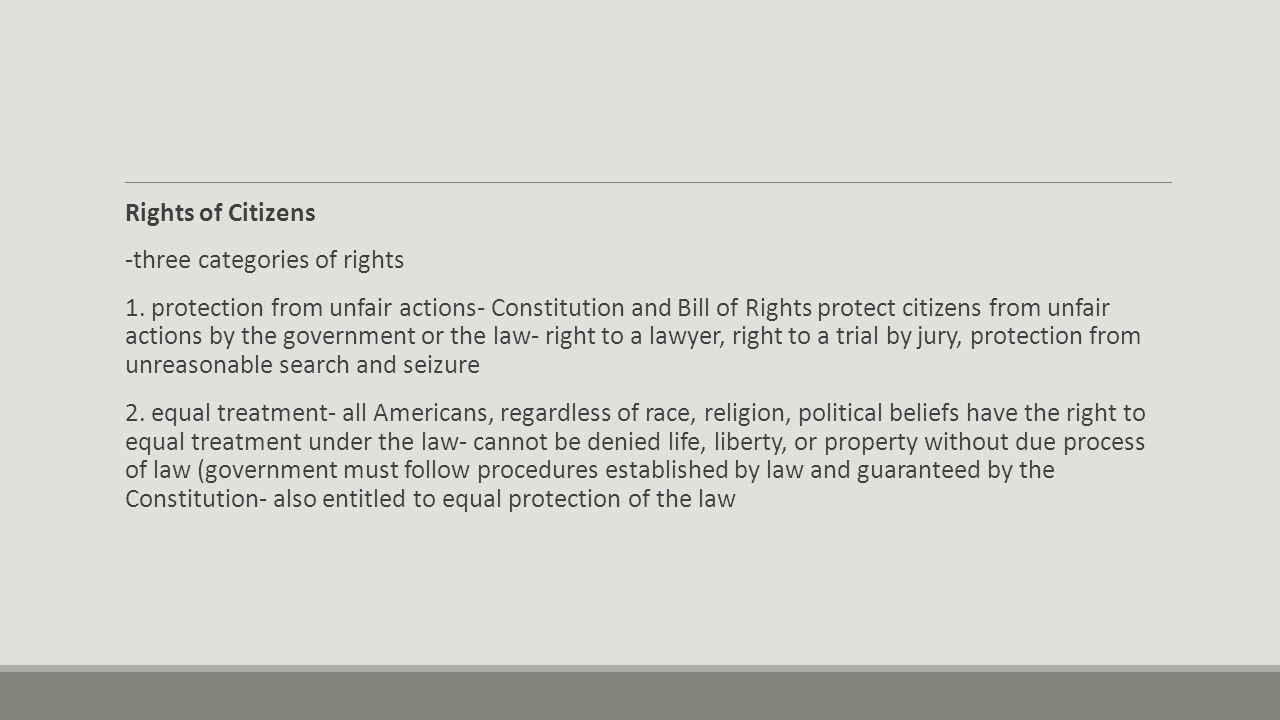 unfair government laws