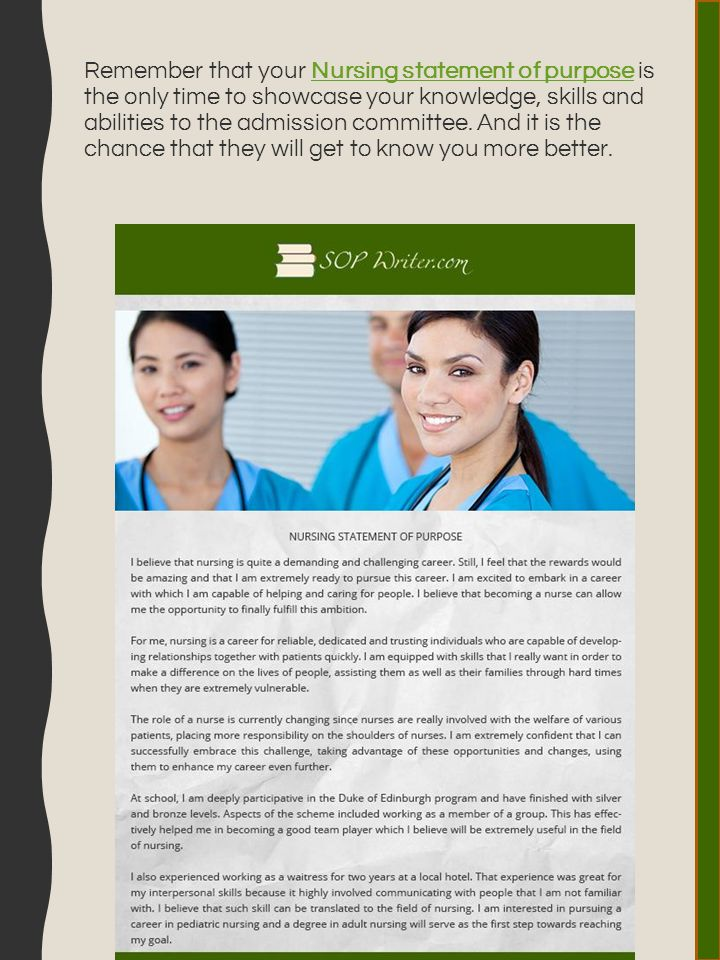 nursing student admission essay Nursing homeworks is the ultimate choice for nursing students seeking assignment help services online we have assisted thousands of nursing students for the last 8 years we have build our reputation around trust, professionalism and quality.