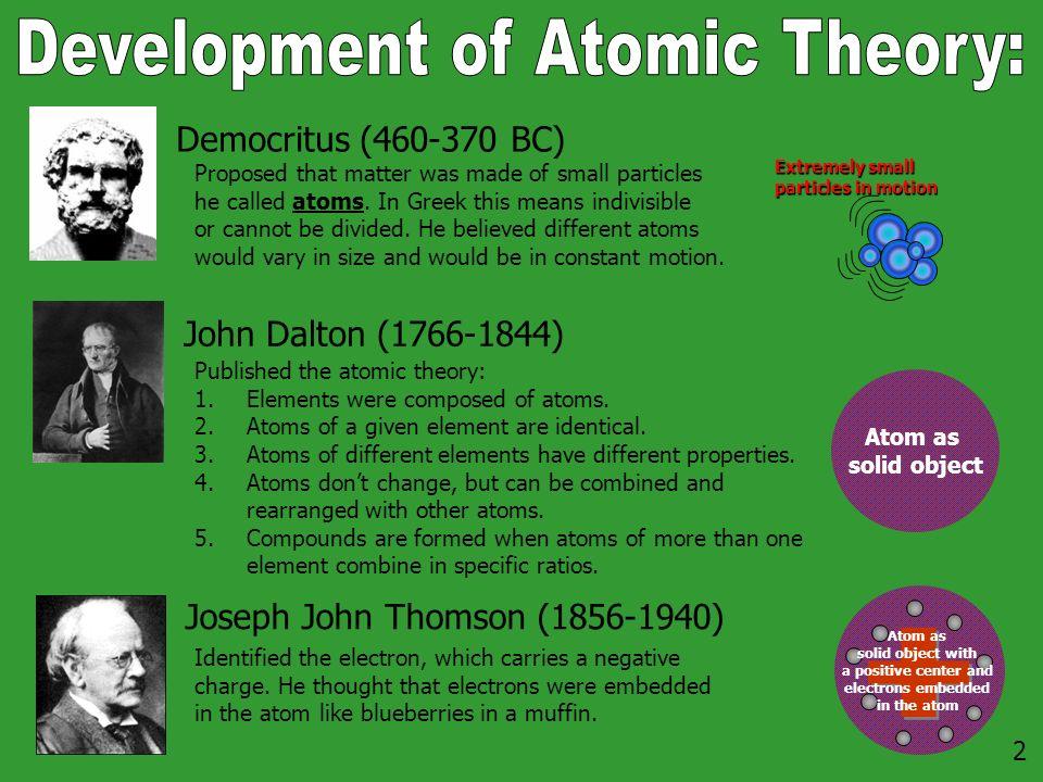 The atom the elements the periodic table 2 democritus bc 2 democritus 460 370 bc john dalton 1766 1844 joseph urtaz Gallery
