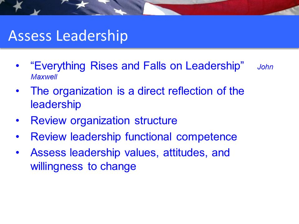 reflective review on leadership