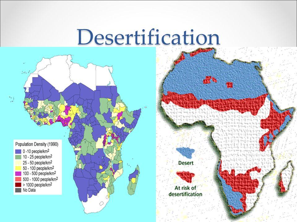 Desertification b.