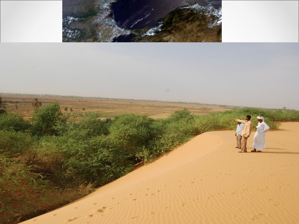 Desertification c.