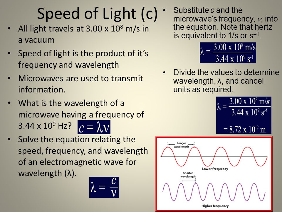 speed of light equation chemistry. 7 speed of light equation chemistry l