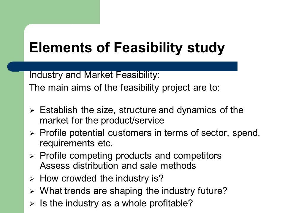 market feasibility report