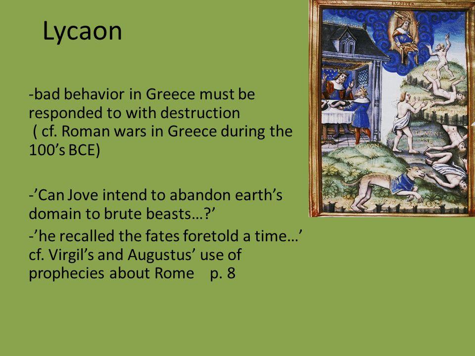lycaon mythologie buch