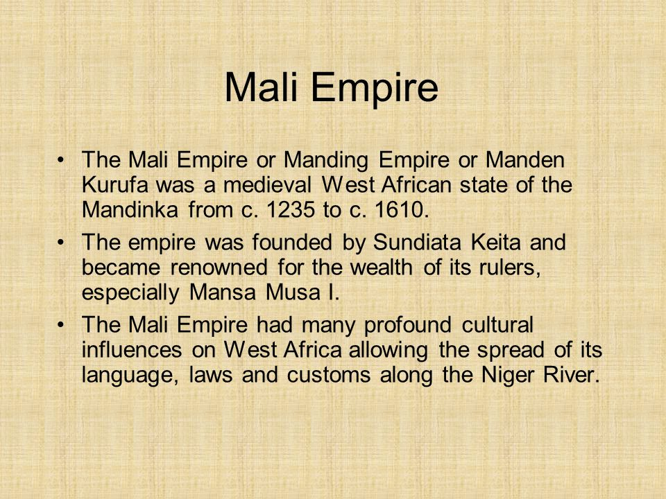 mali empire essay Writework is the biggest source online where you can find thousands of free school & college essays, research & term papers, book reports in over 190 categories.