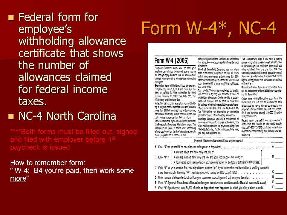 Taxes & Spending Payroll Deductions 4.01 B – Explain taxes on ...