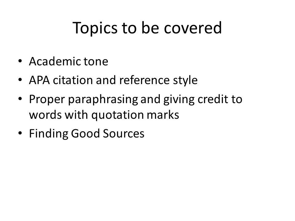 Academic Presentation Topics Academic Writing In Health Science