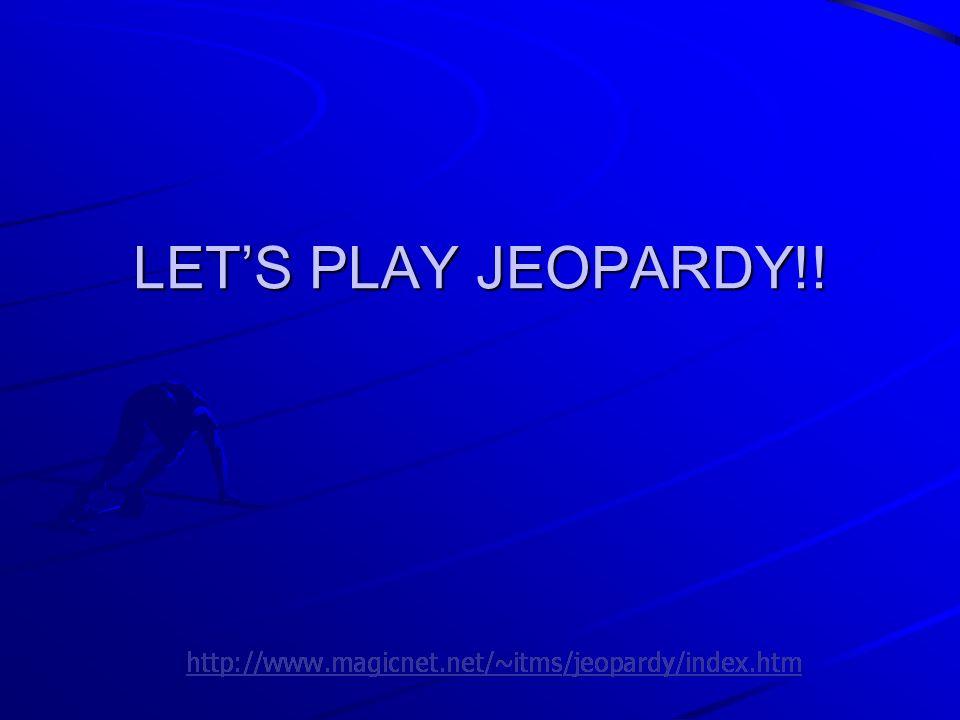 Powerpoint Jeopardy Template 2010