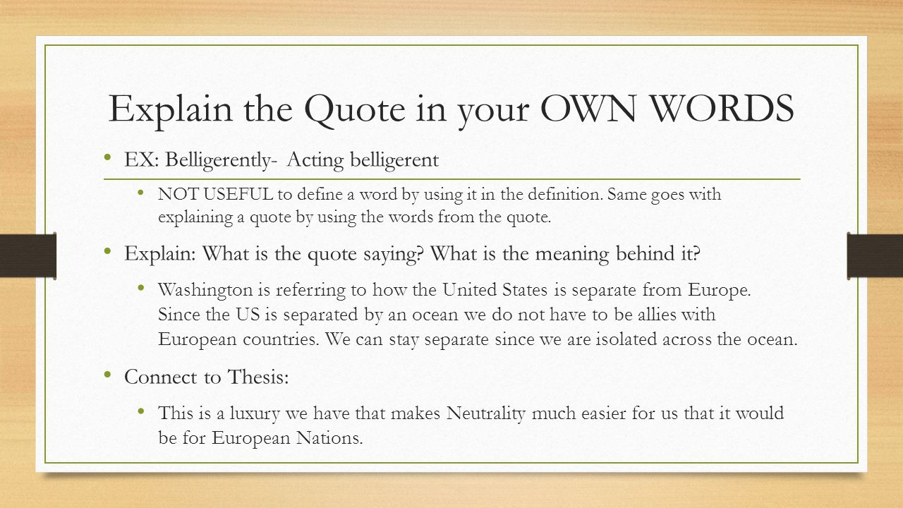 Quotes Definition How To Use Quotes Essay Writinghow Much Of The Quote Should You