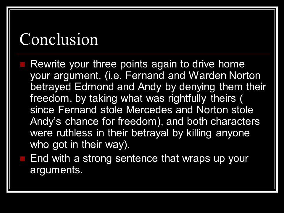 shawshank redemption essay conclusion