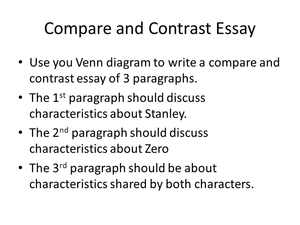 writing the compare and contrast essay These compare and contrast essay topics provide teachers and students with great compare and contrast essays are taught in school essay writing contests for.
