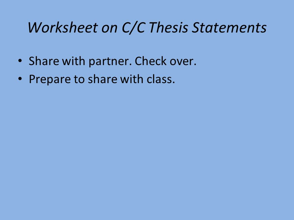 lessons on thesis statements Thesis statement introduction to writing activities for thesis statement identification thesis statement comprehension differentiated activities for thesis statement enrichment activities for thesis statement no prep - print and go lessons for.