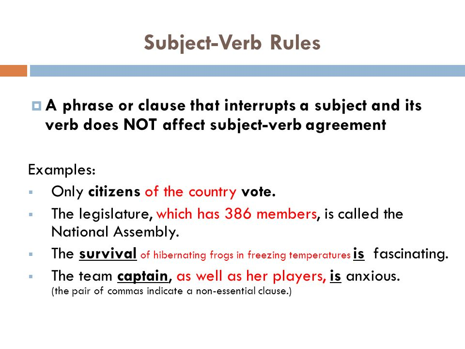 Subject verb agreement subject verb rules a subject and a verb 3 subject verb platinumwayz