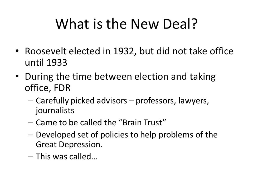 franklin d roosevelt and the new deal 2 essay