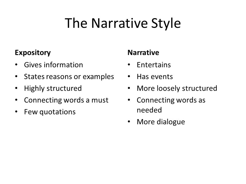 """narrative style 1/09 clrc writing center structure of a personal narrative essay """"narrative"""" is a term more commonly known as """"story"""" narratives written for college or personal."""