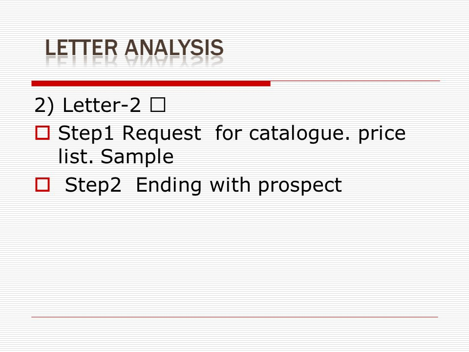 Request For Price List Letter Sample | Biginf