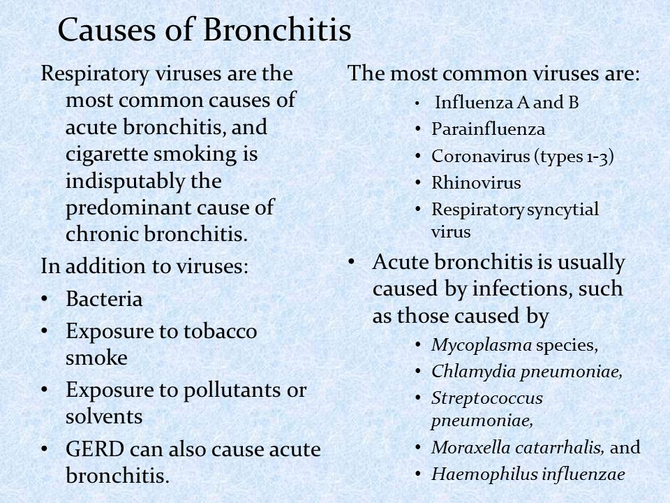 Acute bronchitis dr m a sofi md frcp london frcpedin respiratory viruses are the most common causes of acute bronchitis and cigarette smoking is indisputably sciox Gallery