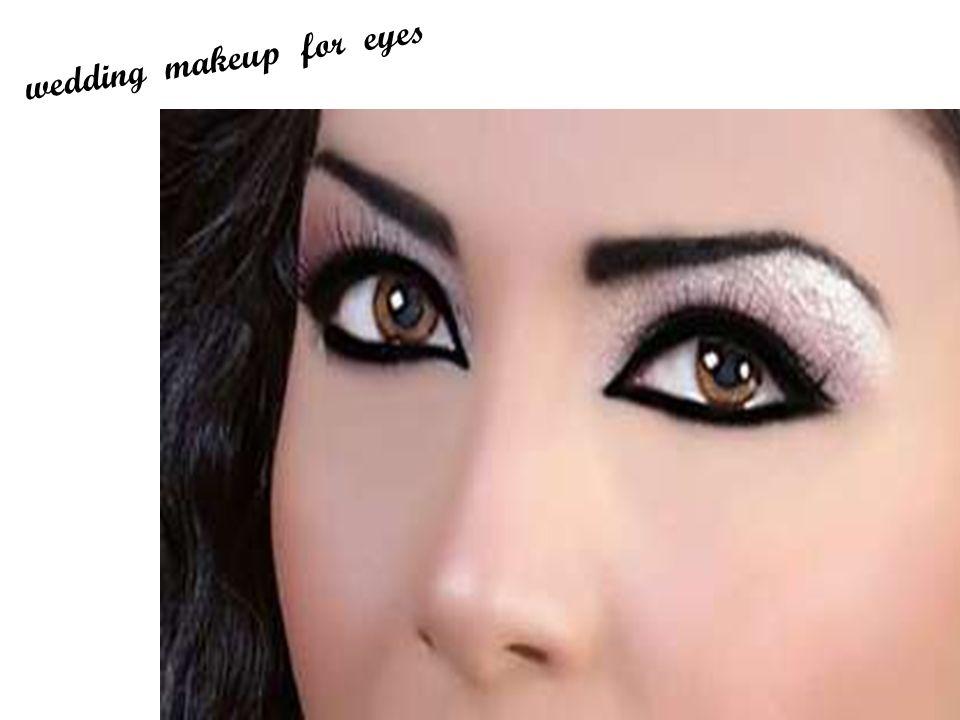 wedding makeup for eyes