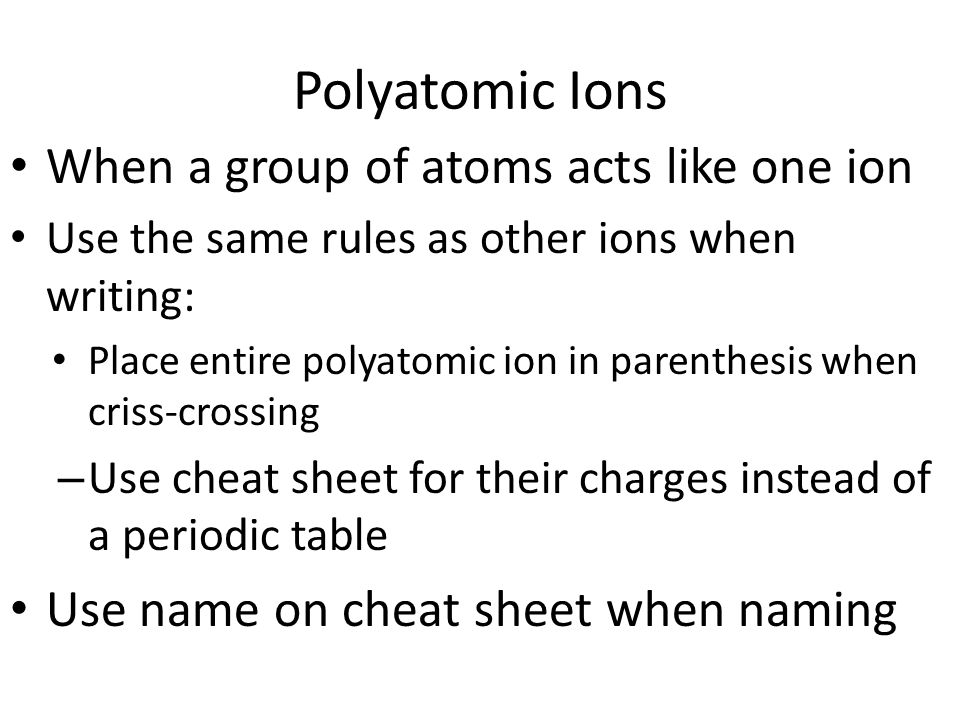 naming and writing ionic compounds ionic compounds occur between periodic table periodic table charges cheat sheet - Periodic Table Charges Cheat Sheet