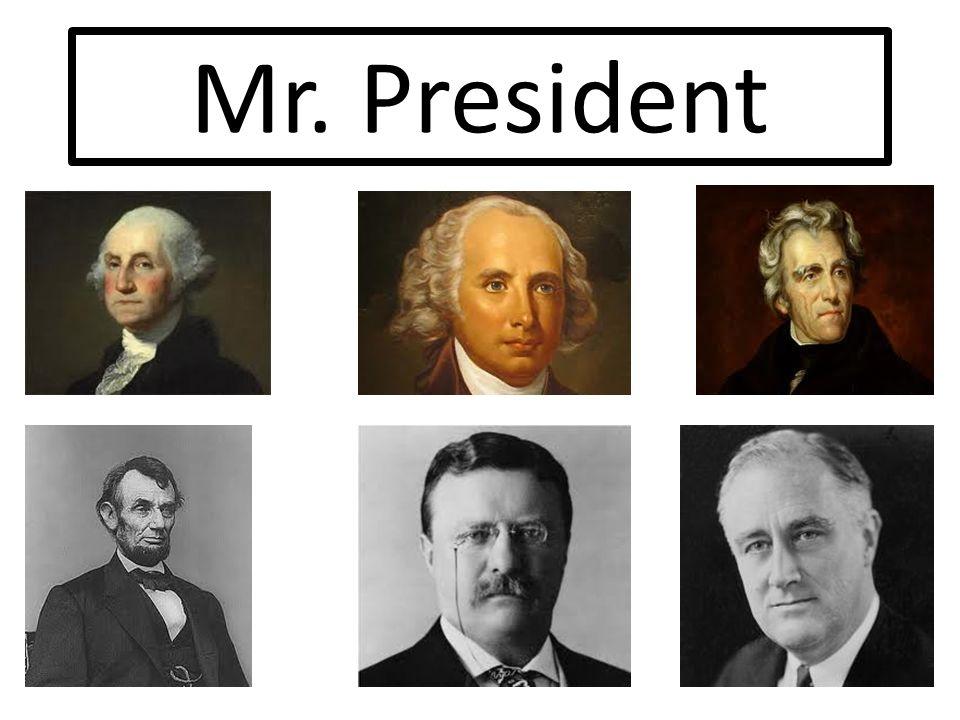 Mr. President. Eras of the Presidency Virginia Dynasty: – From ...