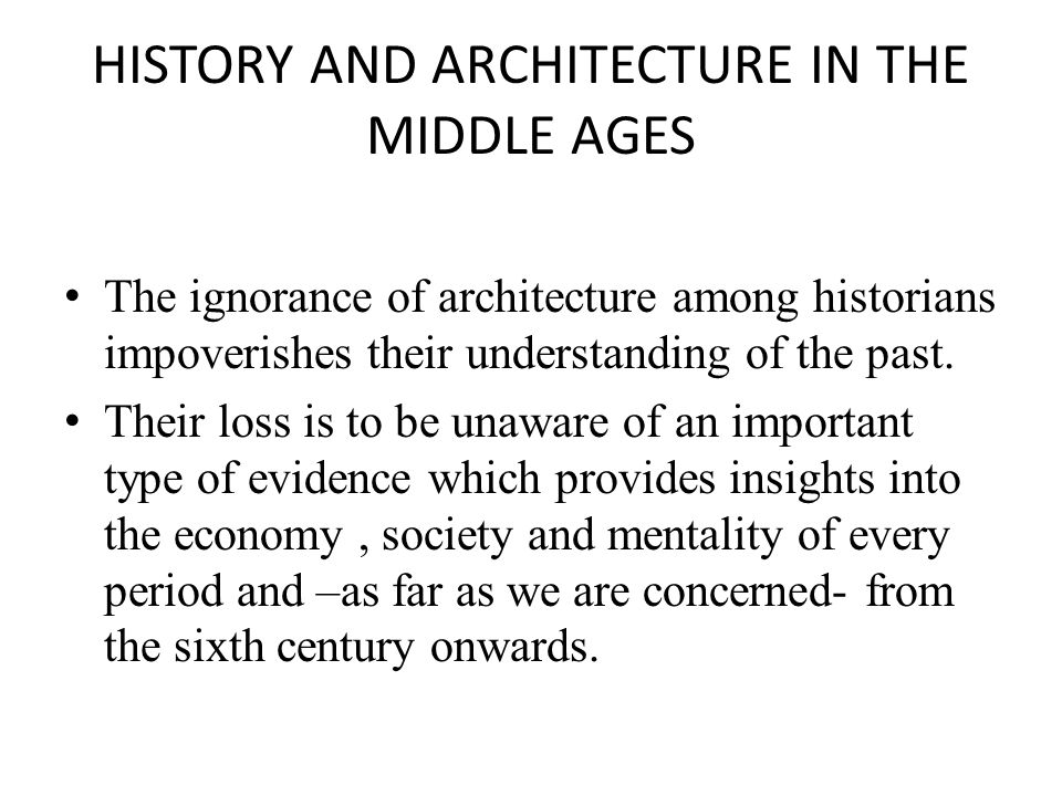 THE IMPORTANCE OF AN INTERDISCIPLINARY APPROACH The unwelcome result of subdivisions of knowledge (architecture vs.