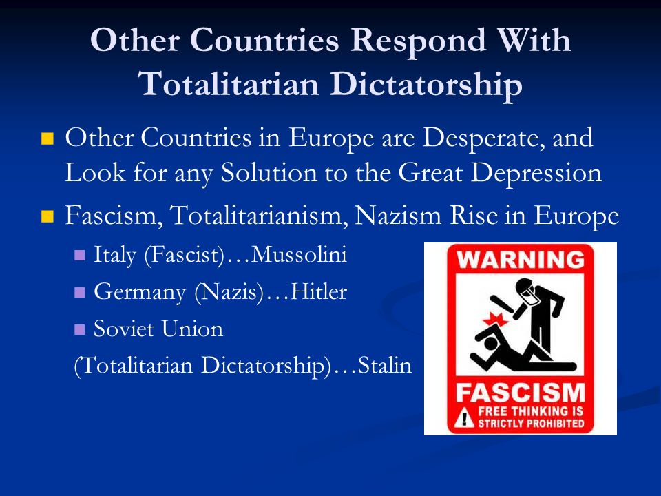 how totalitarian were fascist italy and The rise of totalitarian leaders italy, germany who was the fascist leader of italy that created the first the rise of fascism—germany,italy.