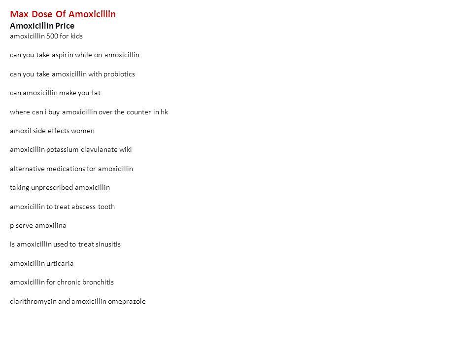 dosage of amoxicillin for kids